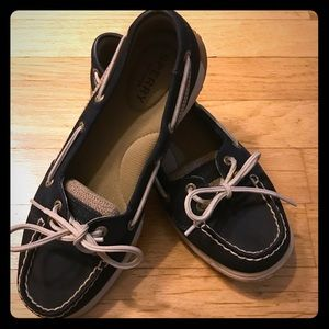 Women's Sperry Top-Sider Boat Shoes in Navy